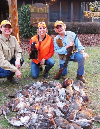 The Westervelt Lodge – Guided Whitetail Deer, Dove, Quail, Pheasant and Turkey Hunts in Alabama